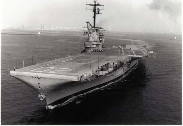 10/10/69 departing Long Beach heading to the Puget Sound Naval Shipyard in Bremerton for inactivation