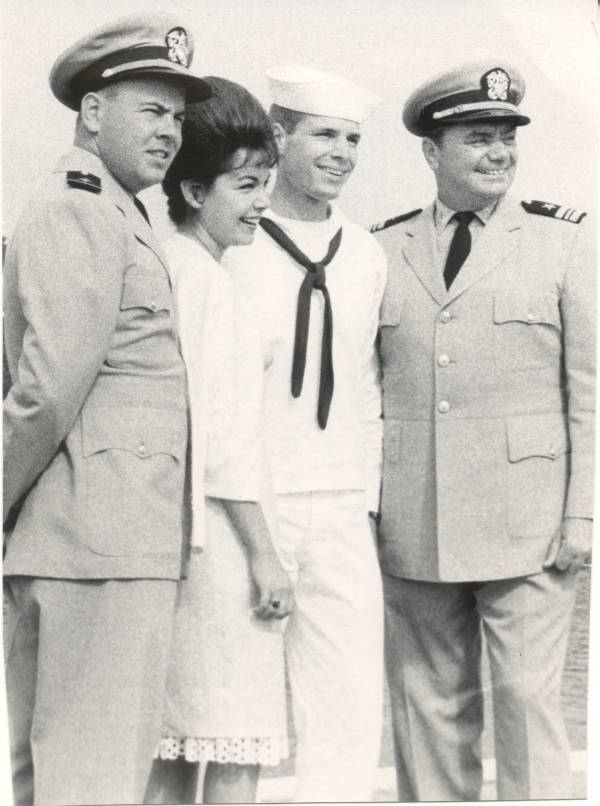 Tim Conway, Annette Funicello and Ernest Borgnine