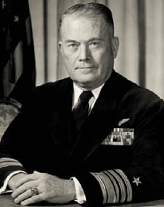 VADM WILLIAM F. 'Red' Raborn, USN