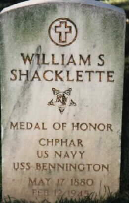 William S. SHACKLETTE Gravesite PHOTO