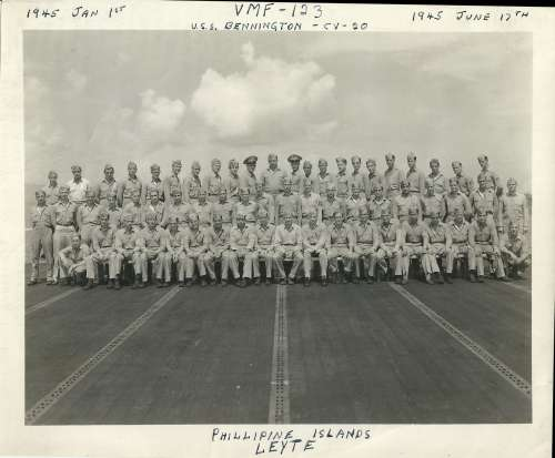VMF-123 January 1, 1945 - June 17, 1945