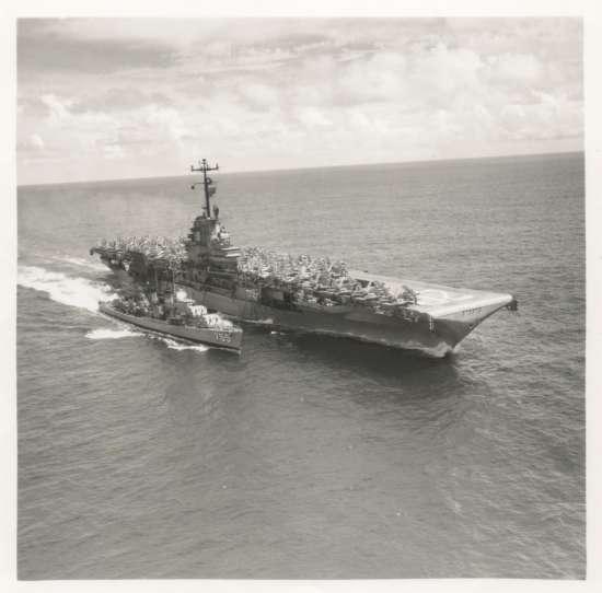 September 19, 1958<BR>Refeuling Destroyer