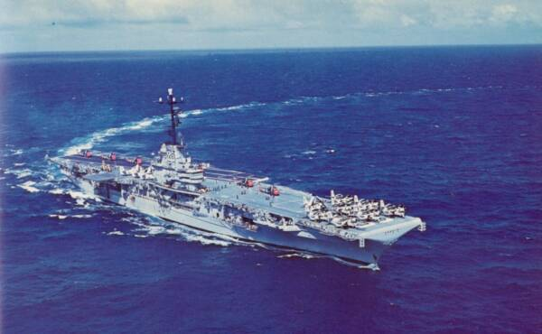 USS BENNINGTON CVS-20 - 1960-1961 Cruise