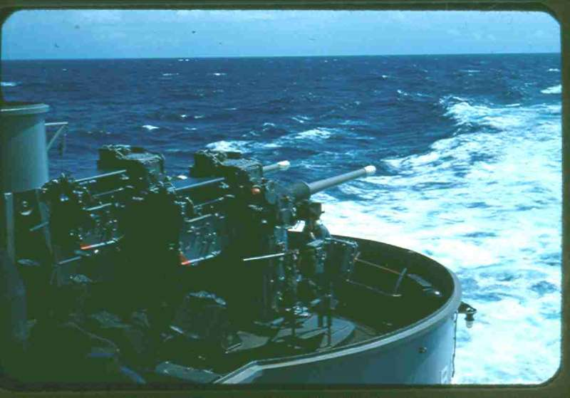 Carrier qualification in the Atlantic off Florida around Jan-Feb 1954