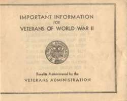 WAR YEARS Important Veterans of WWII Information