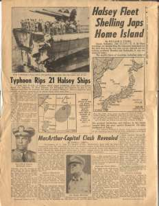 WAR YEARS WWII In The News