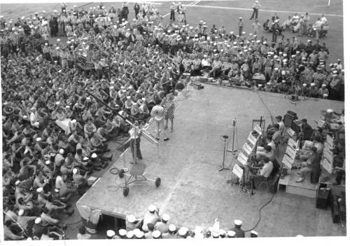 Bob Hope Show from 07 level on BENNINGTON - Dec 1966