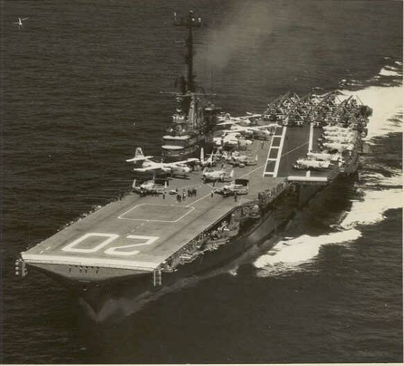 USS BENNINGTON CVA-20 - June 13, 1958