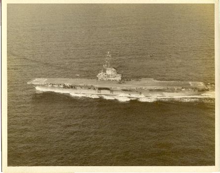 Underway to South America and Cape Horn Sep 1955