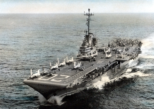 CVA-20 USS BENNINGTON 1956 Oct 3 - 1957 May 23