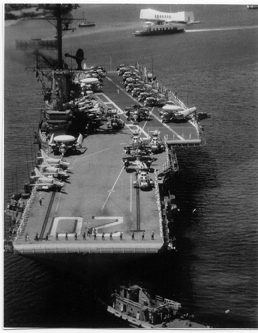 USS BENNINGTON AT PEARL HARBOR - 20 May 1968