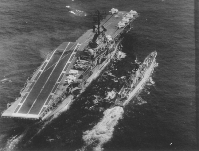 USS BENNINGTON AT SEA (14 May 1968)