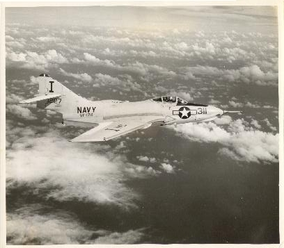 F9F In Flight - ATG-181 embarked, Tail code I