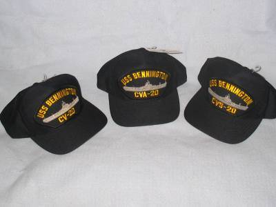 USS BENNINGTON Ball Caps